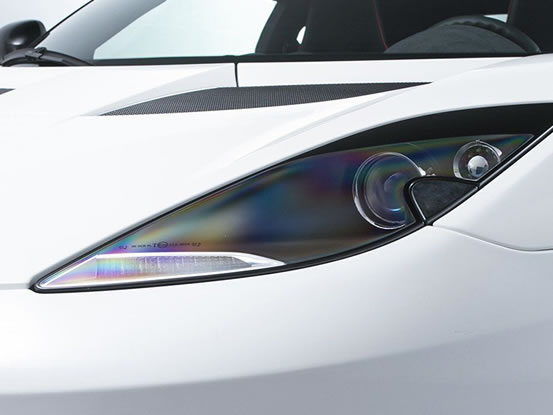 Lotus Evora headlight