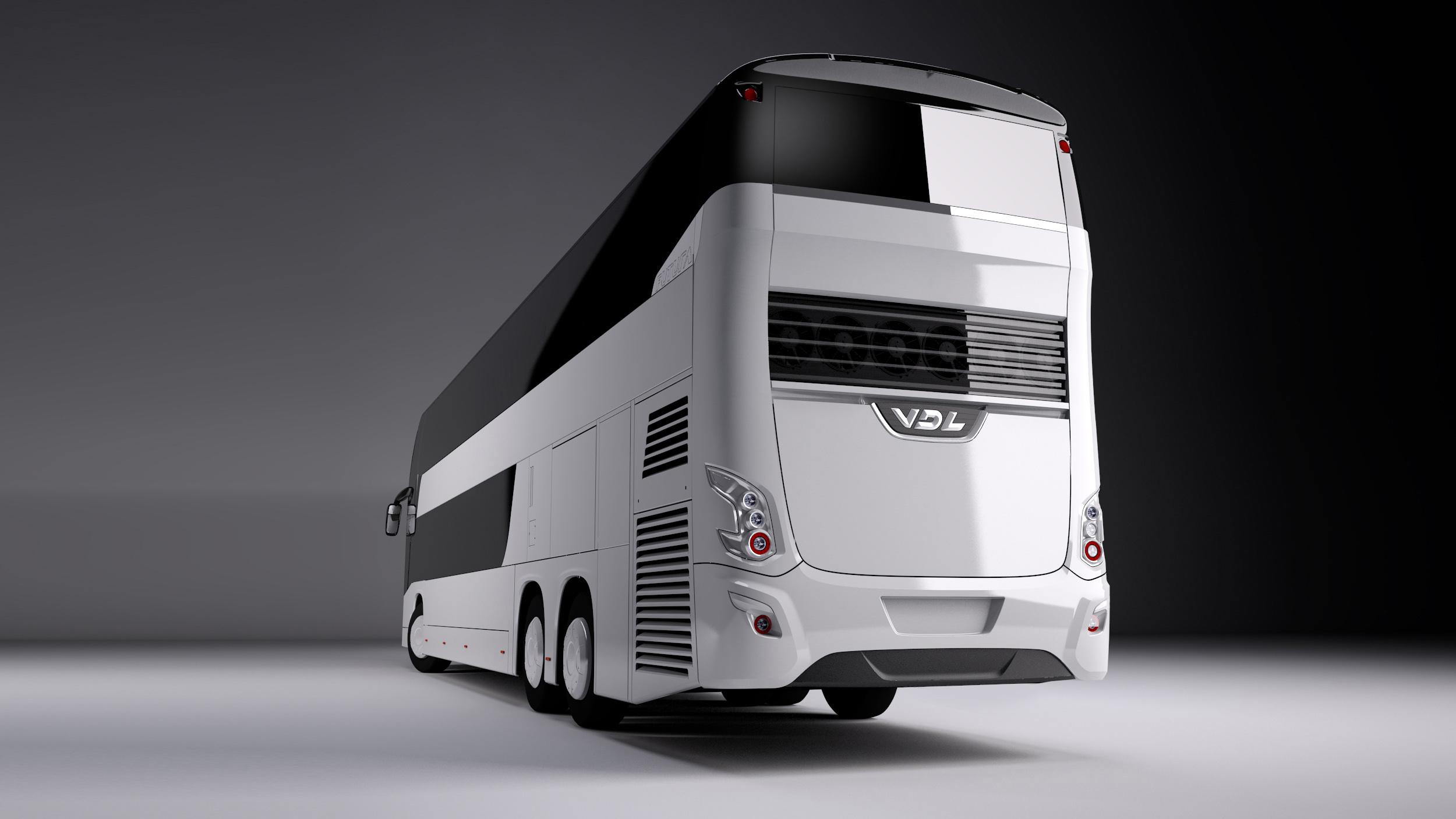VDL Futura bus (back)